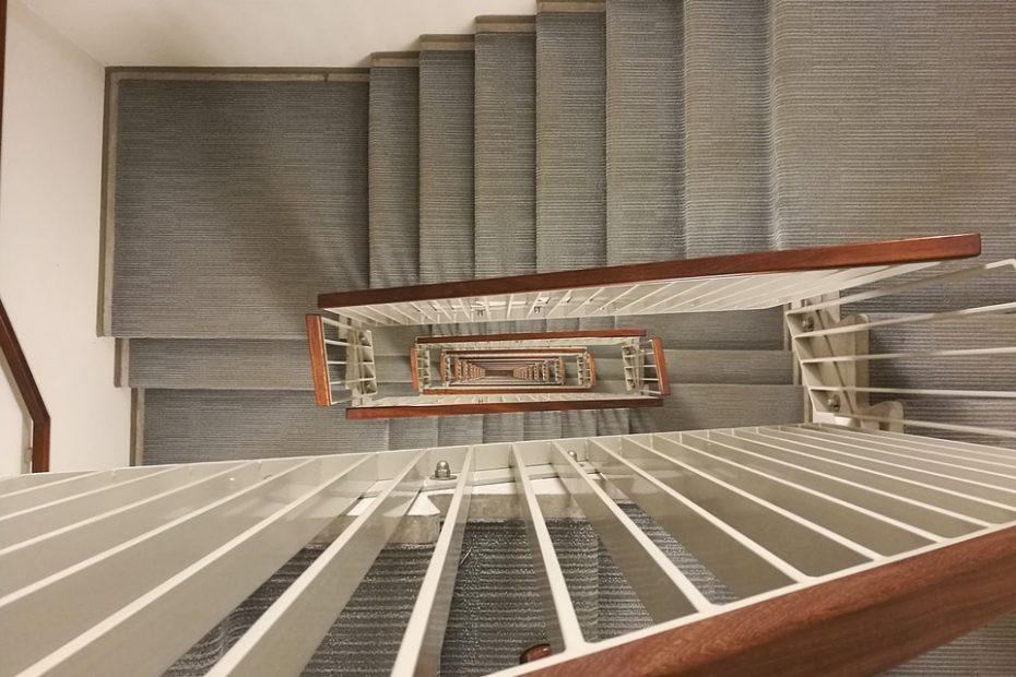 trappevask i København